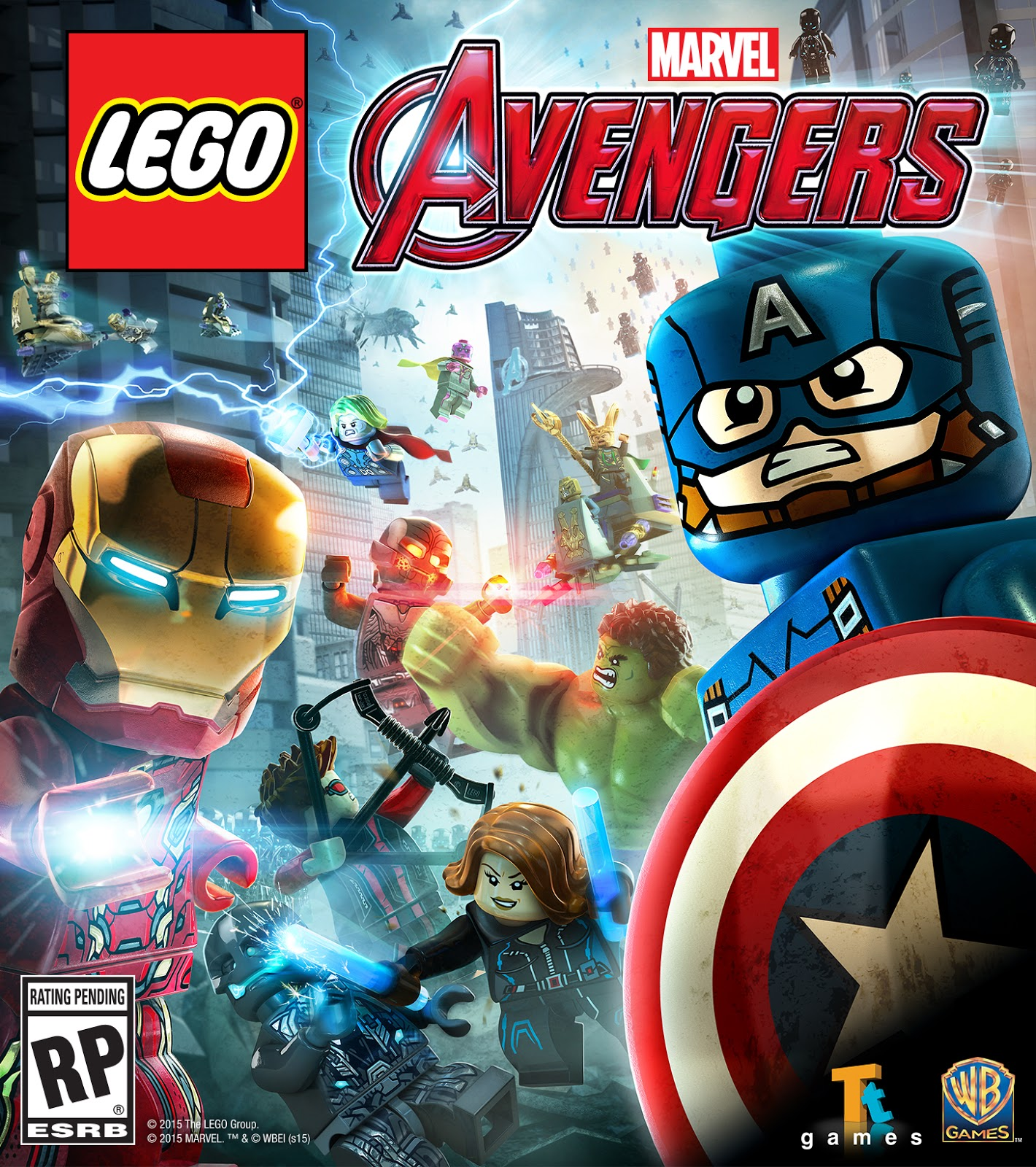 Lego Marvel's Avengers release date pushed back past holidays 2015 ...