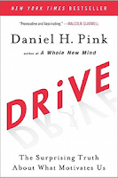 book cover: Drive by Daniel Pink