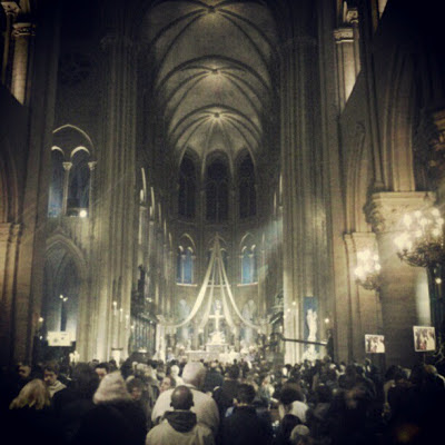 Midnight Mass on Christmas Eve, Notre-Dame Cathedral, Paris