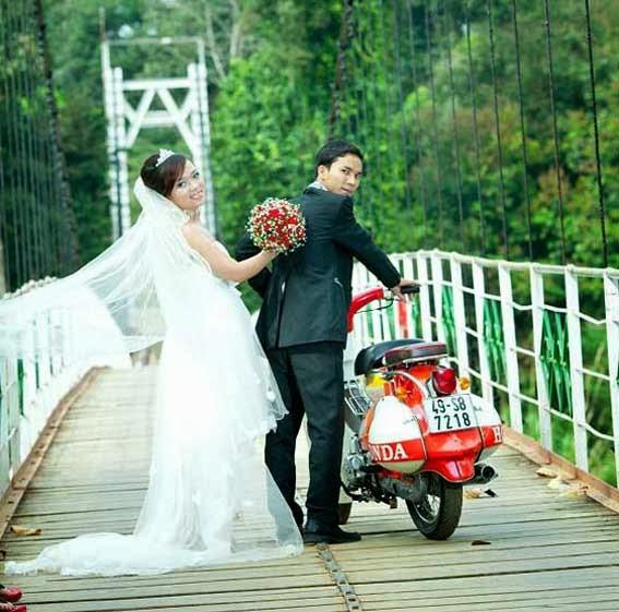 Chụp hình cưới thành phố mới BÌnh Dương