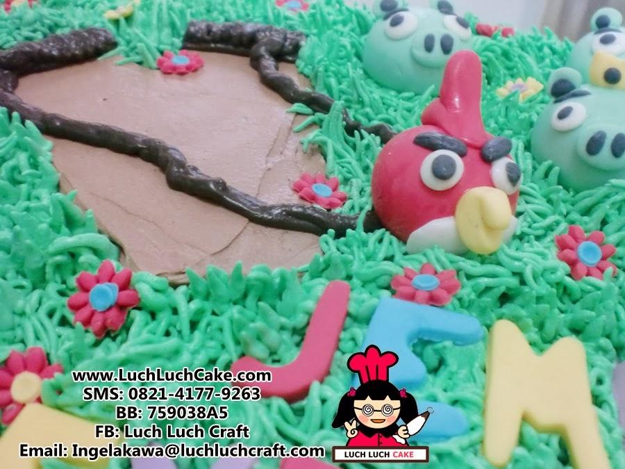 jual kue tart angry bird
