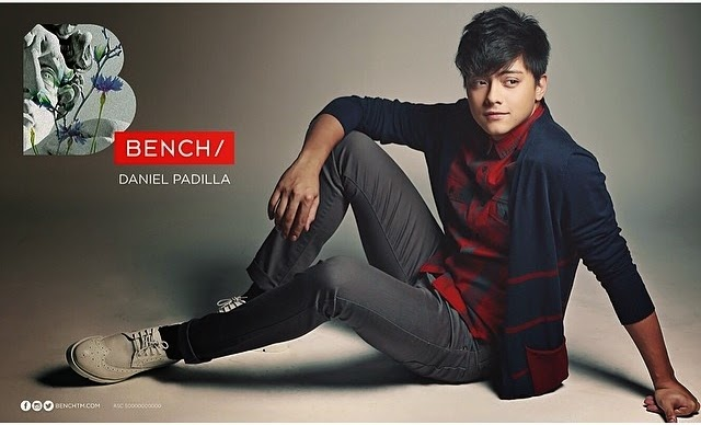 Daniel Padilla is now the newest endorser of Bench Clothing ~ The Daily Babble