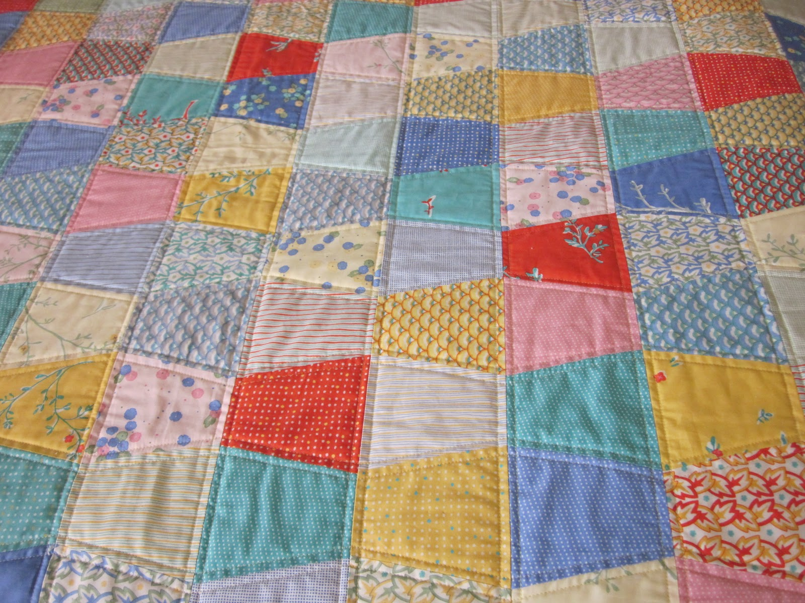 Zany Quilter The Tumbler Quilt Got Quilted