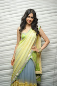 Adah sharma glam pics in saree-thumbnail-1