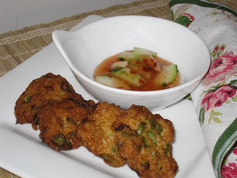 W o k a r e l l a thai fishcakes for Thai fish cakes