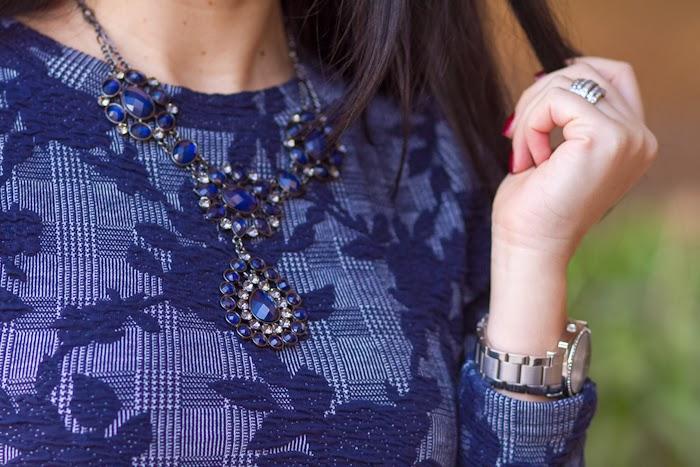 Maxi collar de cristales