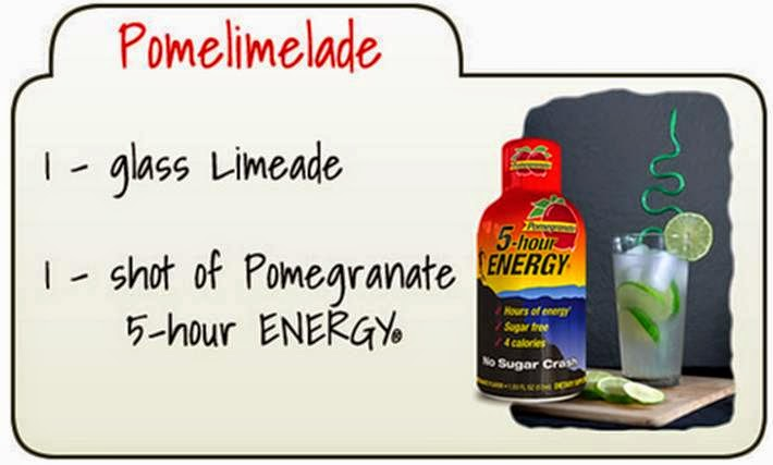 pomegranate 5-hour energy recipe