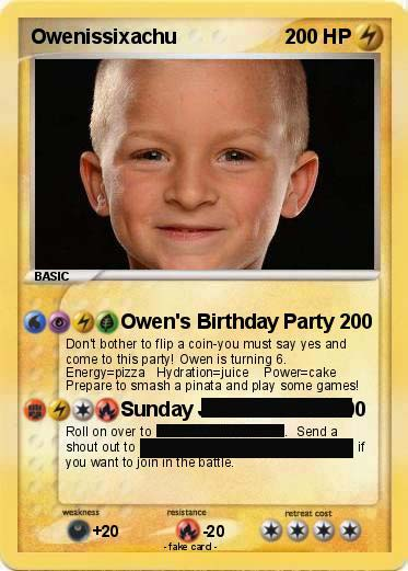 Pokemon Birthday Invitations DIY Cards