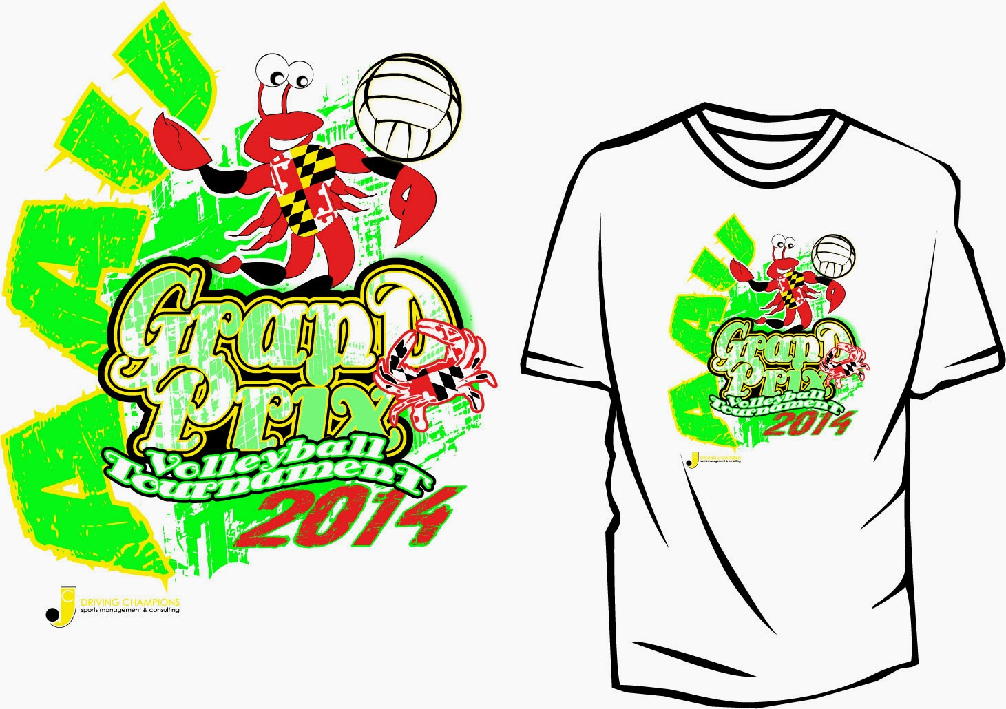 Volleyball Apparel Design