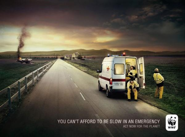 You Can't Afford to be Slow in an Emergency, ct Now for the Planet, WWF