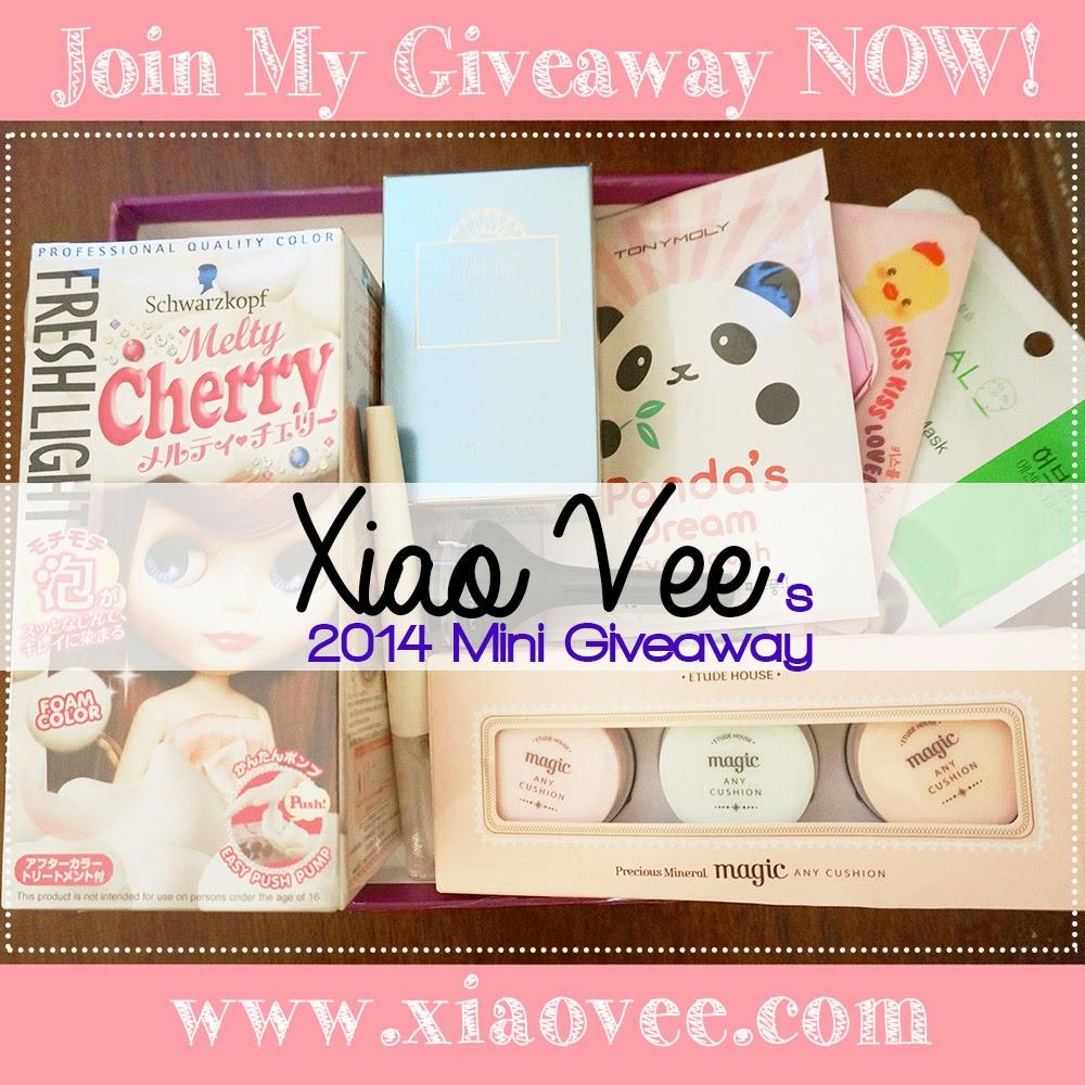 http://www.xiaovee.com/2014/11/xiao-vees-2014-mini-giveaway.html