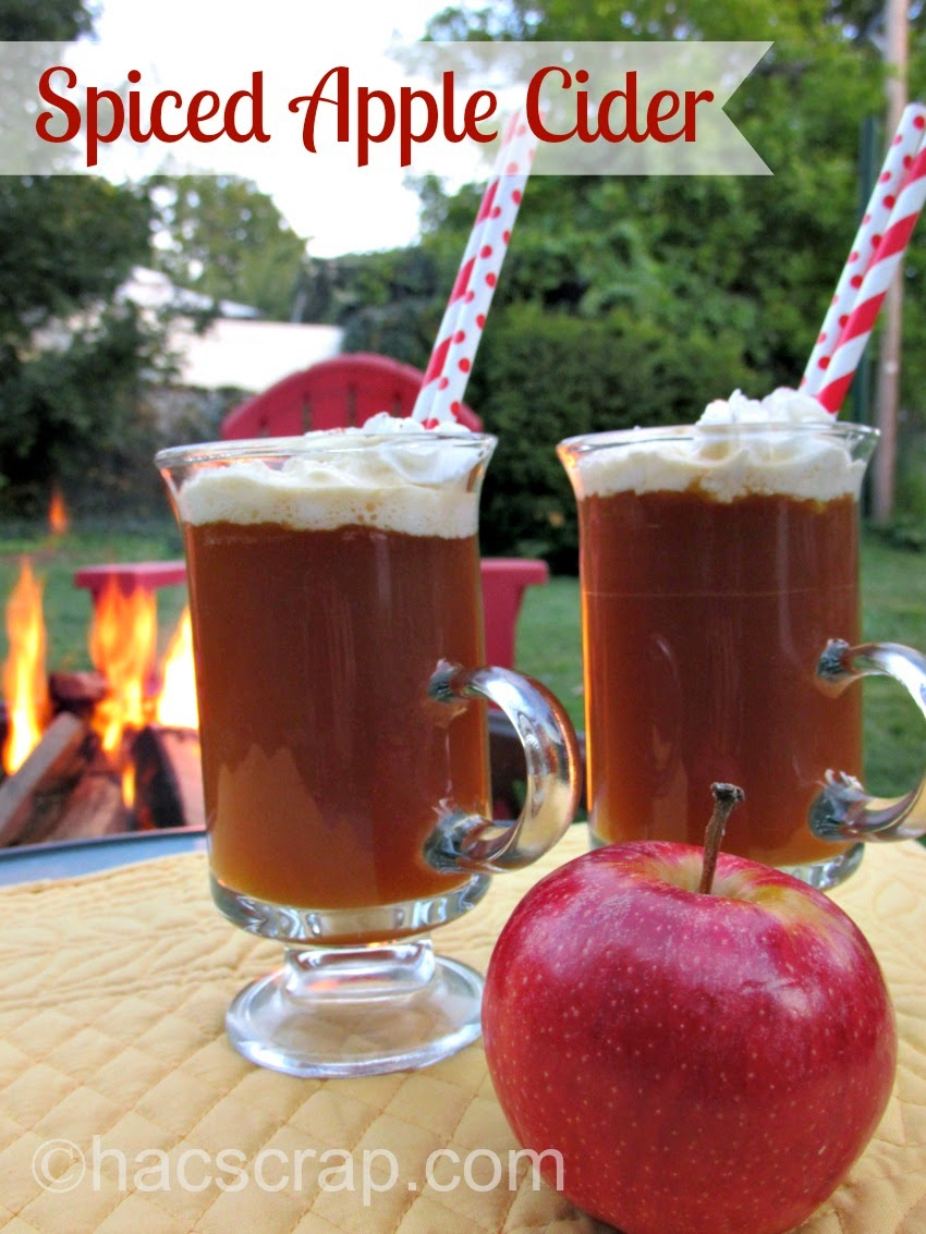 my scraps: Spiced Apple Cider - An Easy and Delicious Fall ...