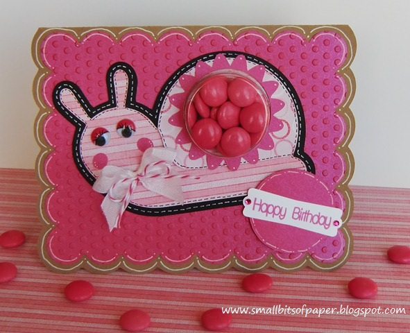 Small Bits Of Paper Girly Girl Birthday Card
