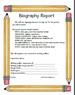 write biographical term paper