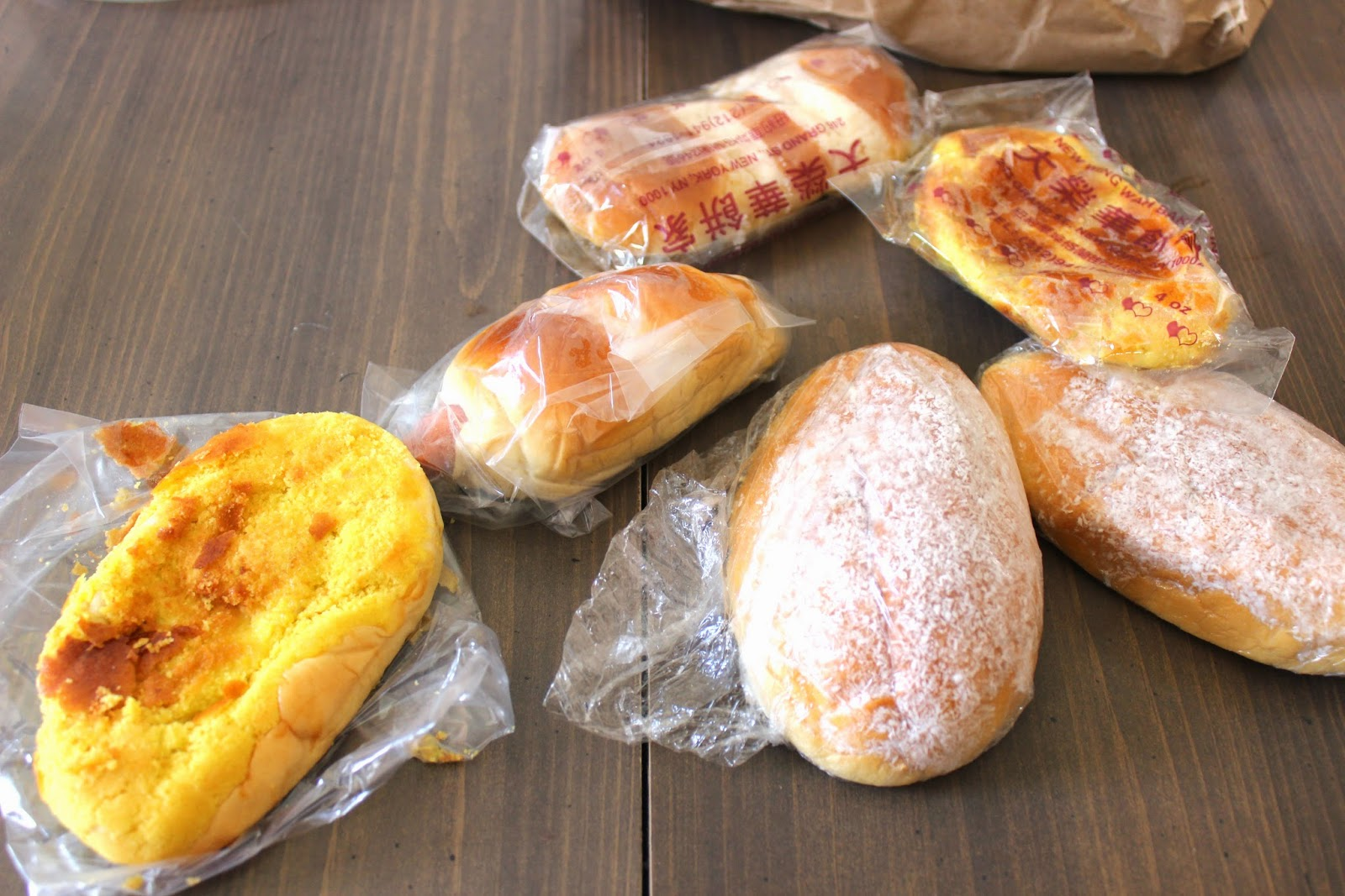 Chinese Bakery Bread