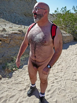 older hairy - hairy men bear - nude men on beach