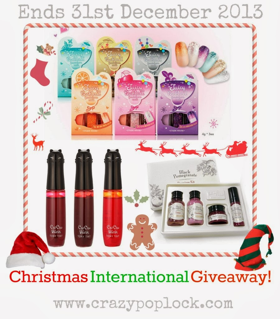 Christmas International Giveaway