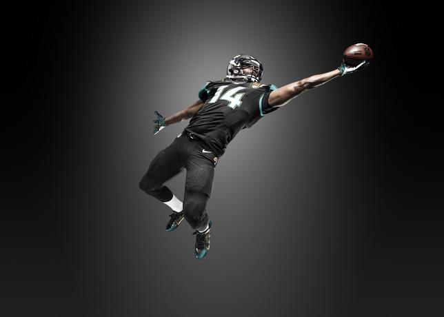 Nike Jaguars #5 Blake Bortles Lights Out Black Men's Stitched NFL Elite Jersey