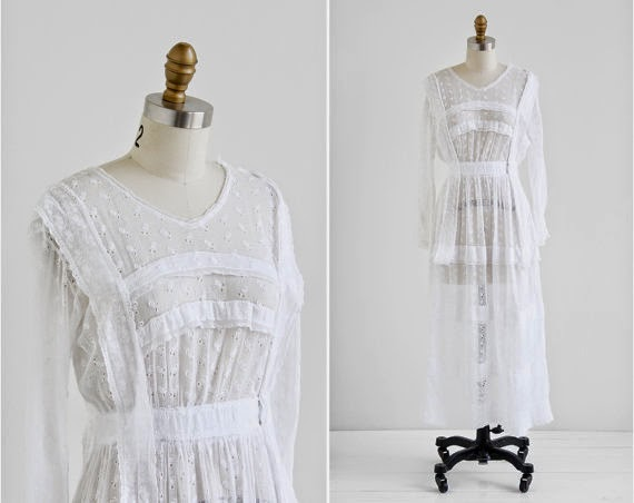 Antique Edwardian Wedding Dress: Affordable Wedding Dresses - Edwardian