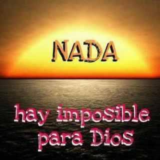 Para Deus tudo é possível!