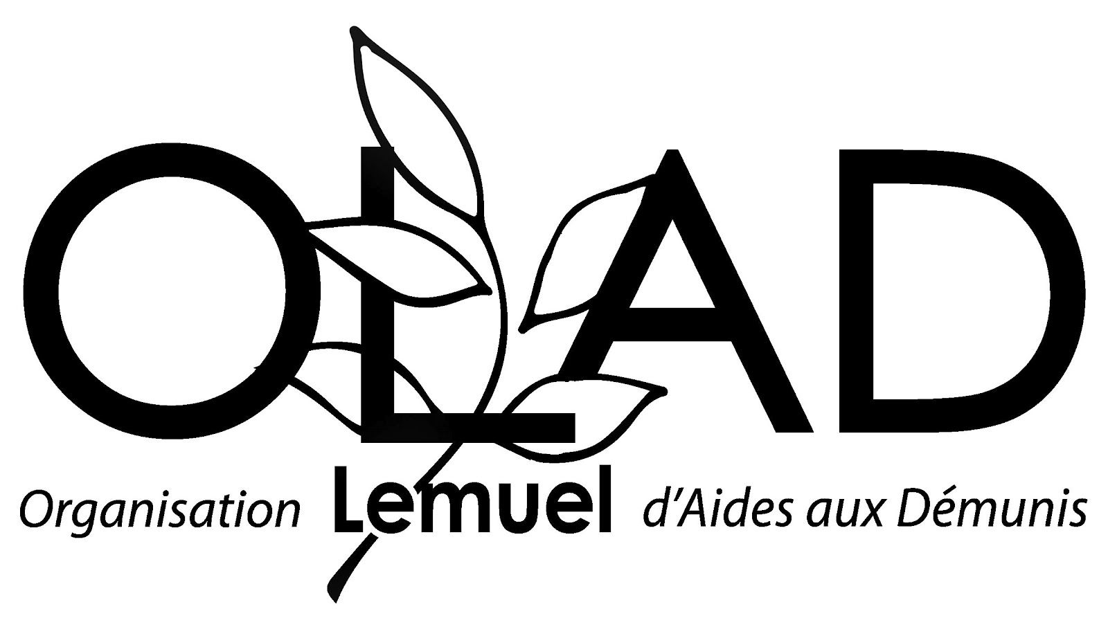 Full OLAD Black and White Logo