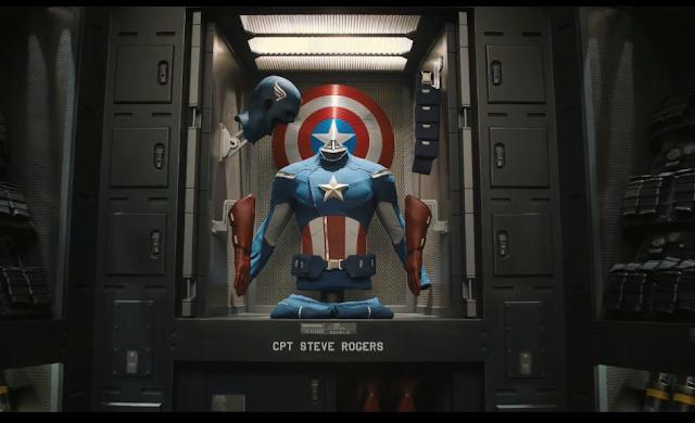 avengers iron man captain america