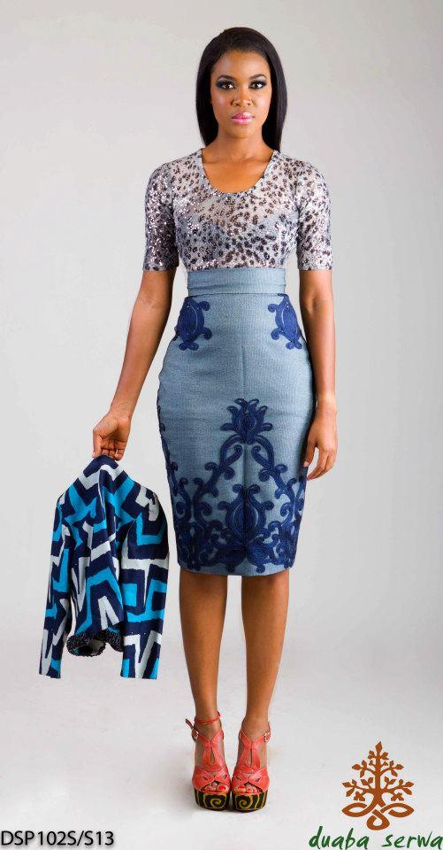modeles de robes en pagne africain