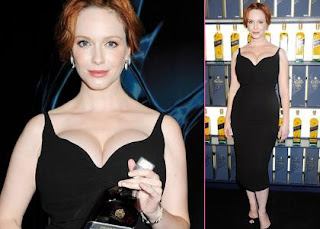 Christina Hendricks: Johnnie Walker Shindig Sexy » Gossip | Christina Hendricks