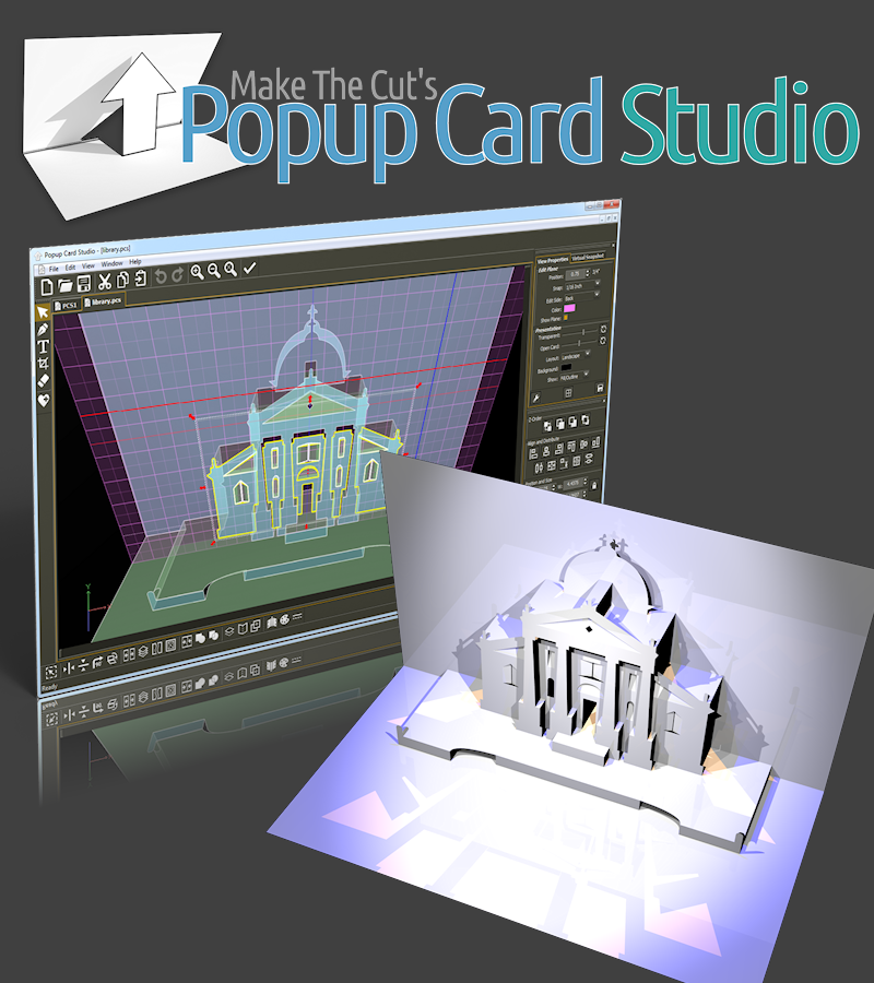 MAKE THE CUT'S POPUP CARD STUDIO