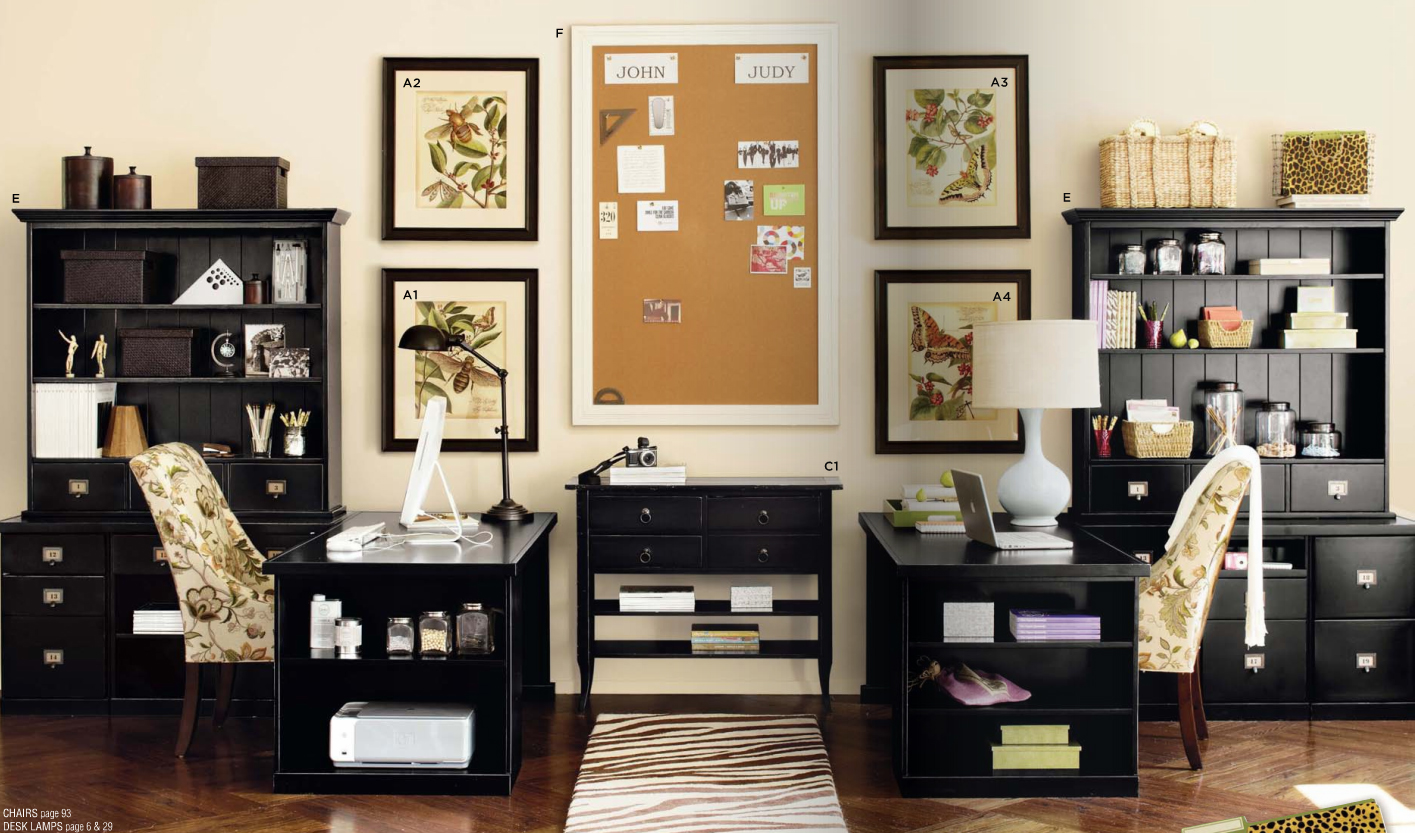 Two Desk Home Office Ideas