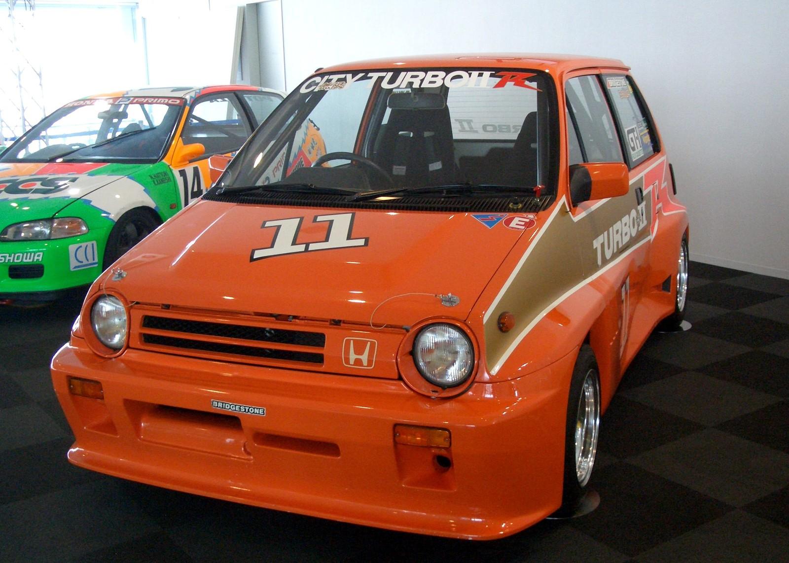 Honda City Bulldog, wyścigi, sport, japoński mały samochód