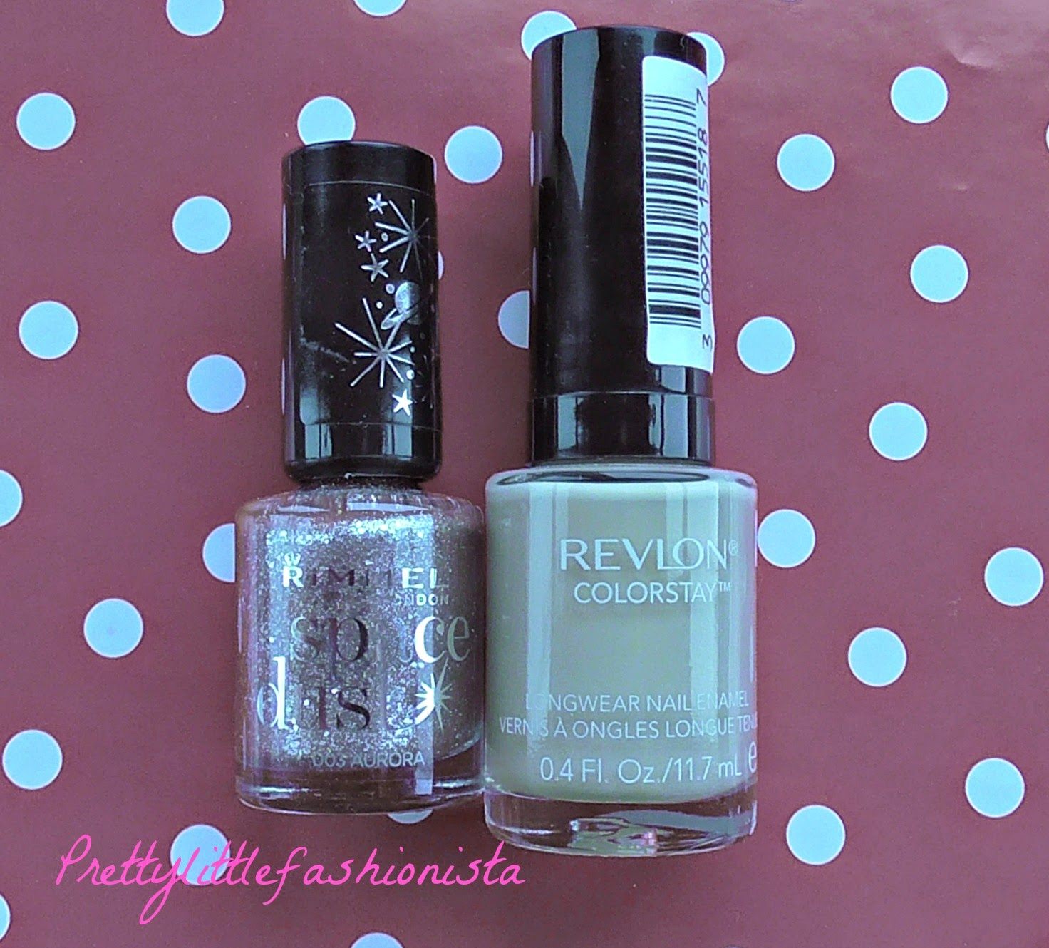 Revlon Bare Bones and Rimmel Aurora