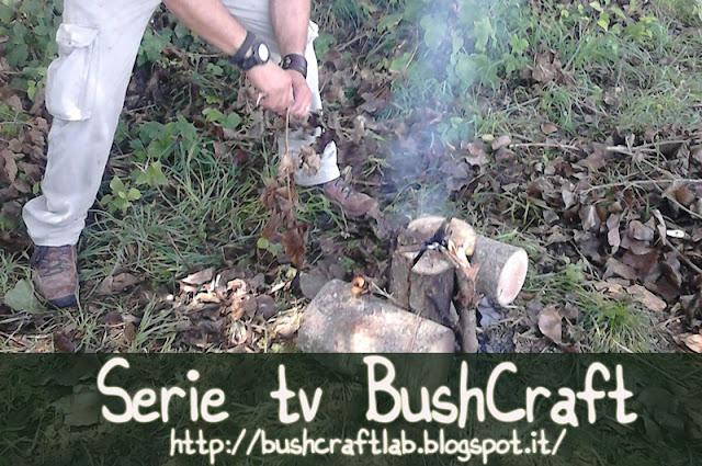 bushcraft italia, serie televisive e personaggi