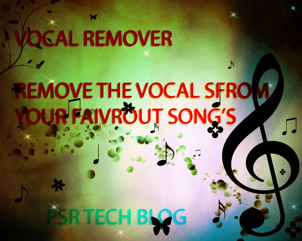 vocal remover machine
