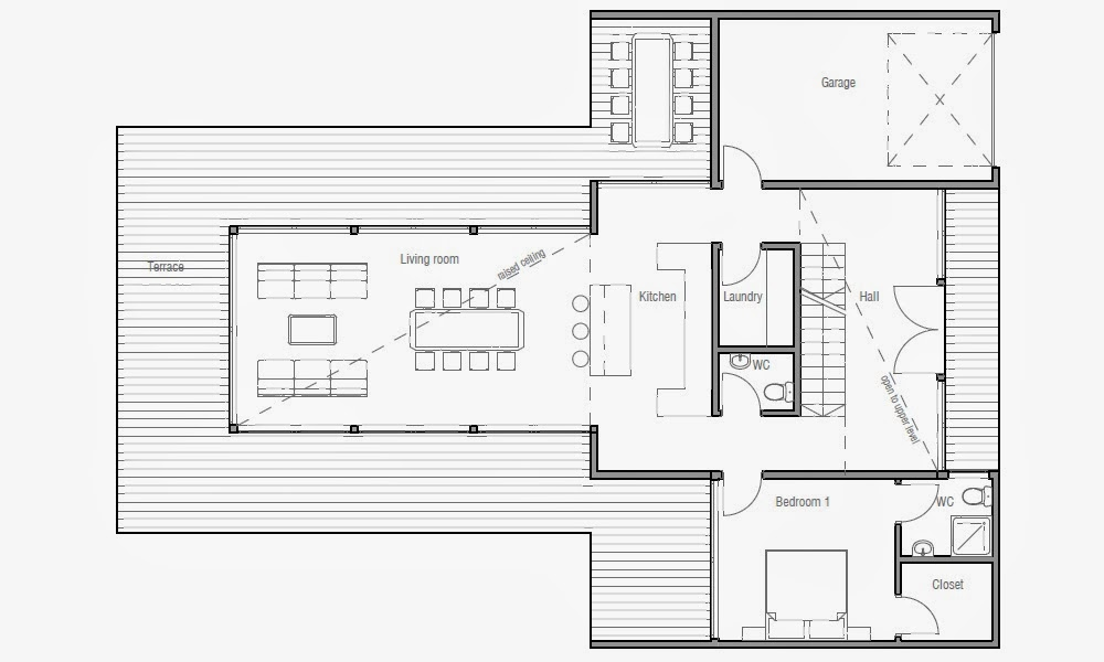 australian house plans contemporary australian house plan ch165
