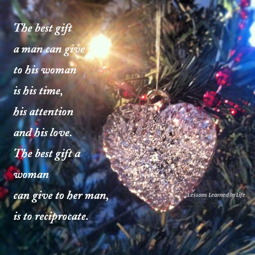 Quotes And Sayings The Best Gift Between A Man And His Woman