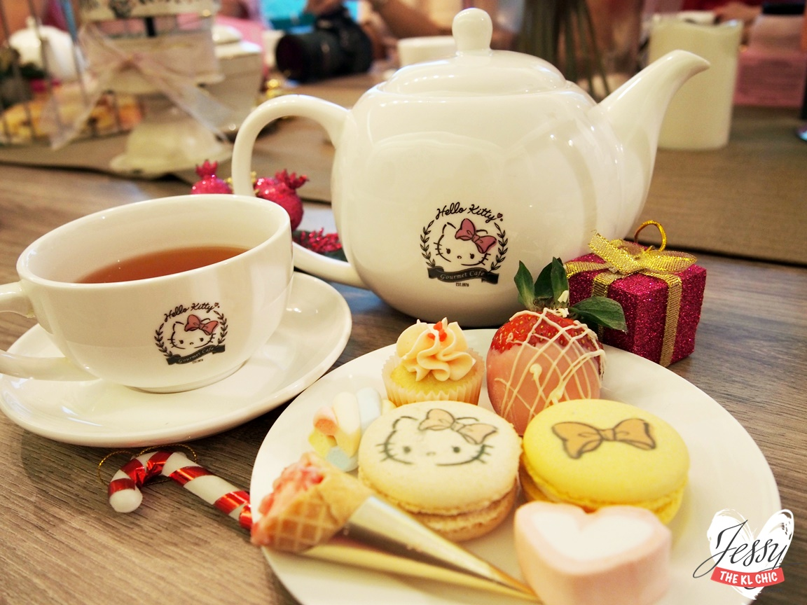 Food: Hello Kitty Gourmet Café (Sunway, Malaysia)