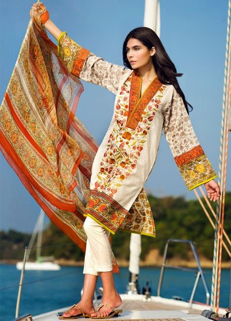 Designer sana safinaz lawn collection