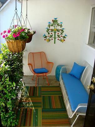 Miss cel nea decoraci n c mo monto mi peque a terraza - Decorar una entrada estrecha ...