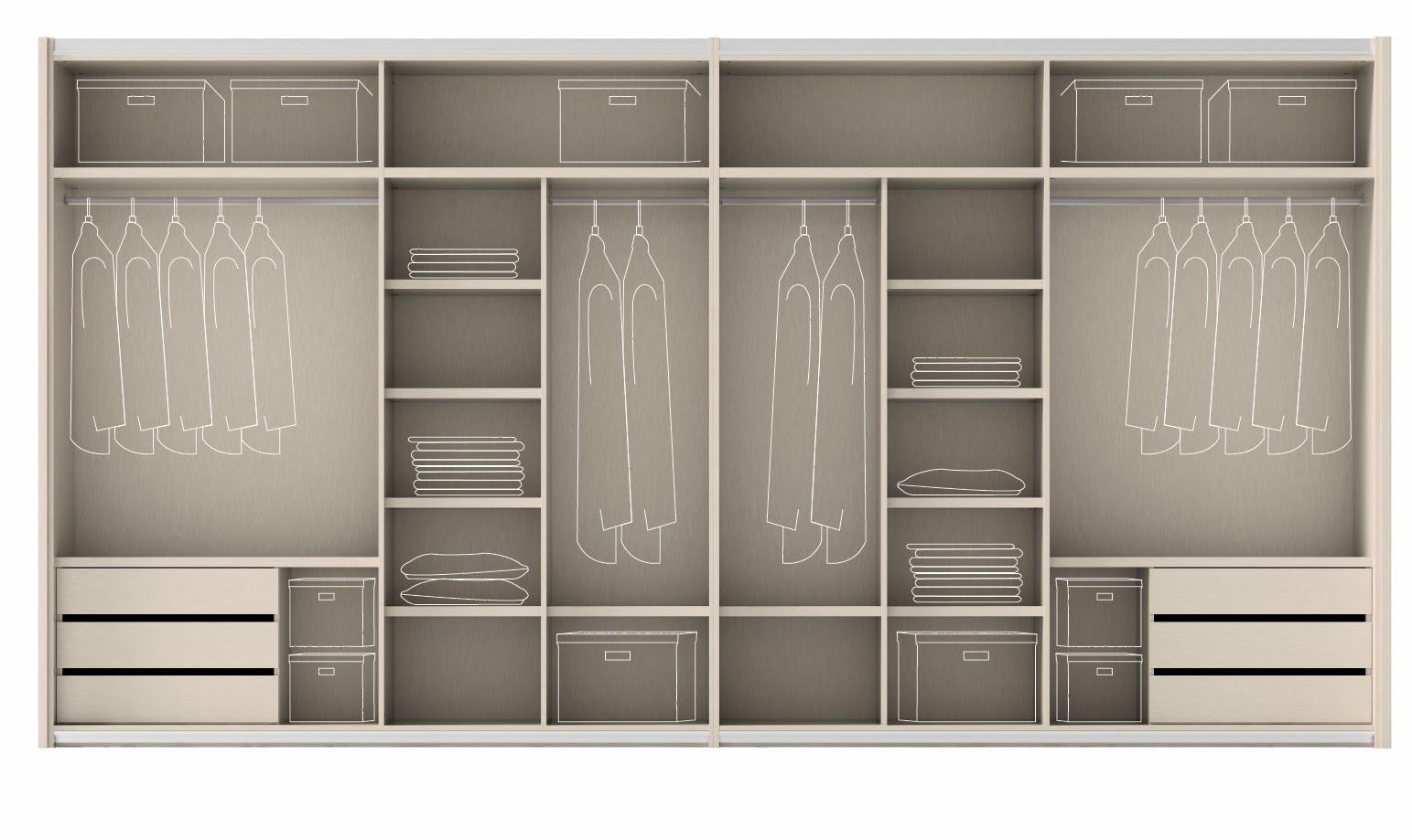 Muebles ros configura el interior de tu armario for Muebles ros precios