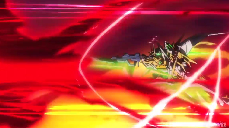 Attacco finale del Real Mode Star Winning Gundam