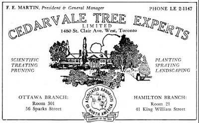 Cedarvale Tree Experts ad