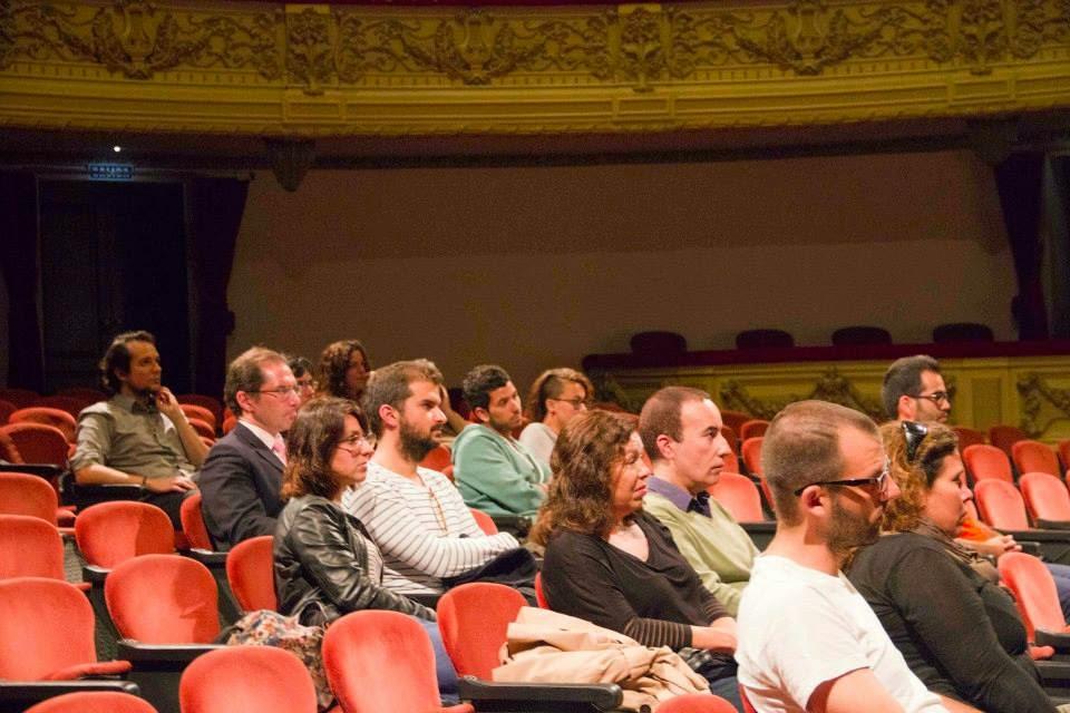 Publico en el Teatro Guimerá de Santa Cruz de Tenerife