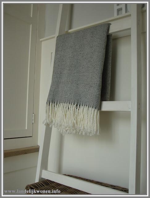 Landelijk wonen interieur idee decoratieve ladder zelf maken for Zelf decoratie maken