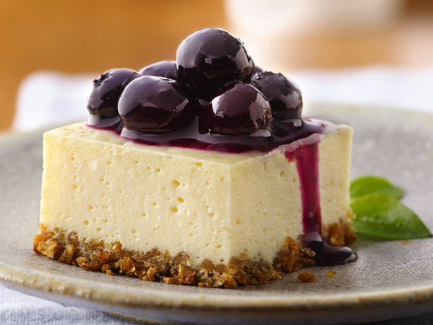 My Favorite Things: Blueberry Cheesecake Squares