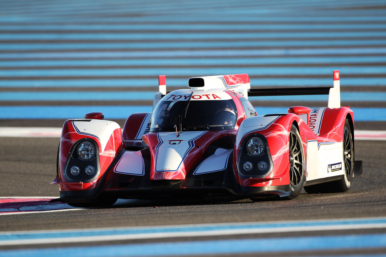 Toyota Racing Unveils 2012 TS030 HYBRID Le Mans Race car ...