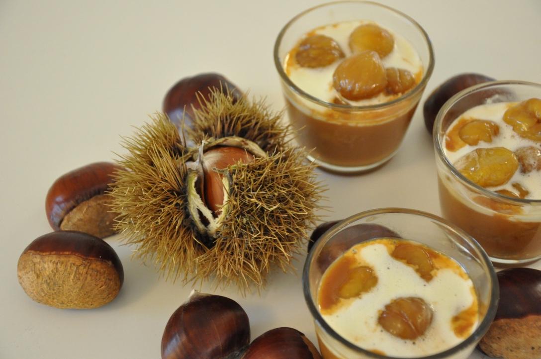 Dessert Traum Aus Kastanien