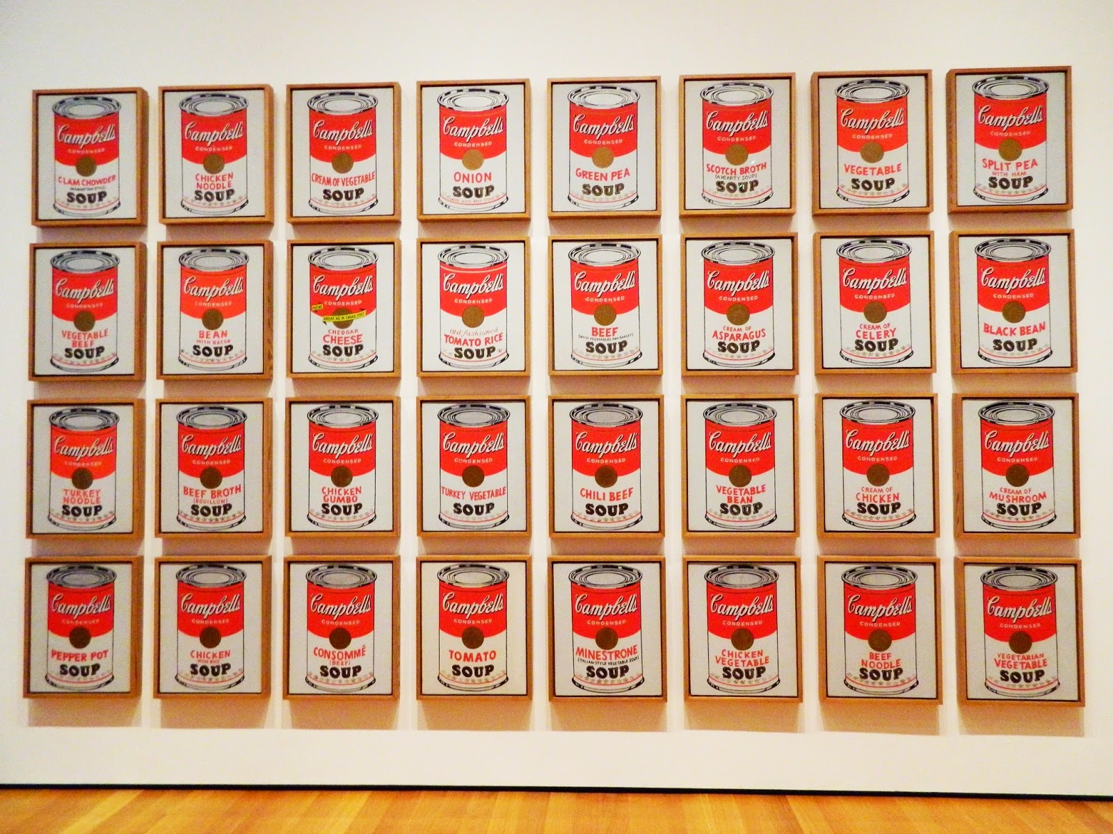 Andy Warhol, Campbell's Soup Cans moma prints 32