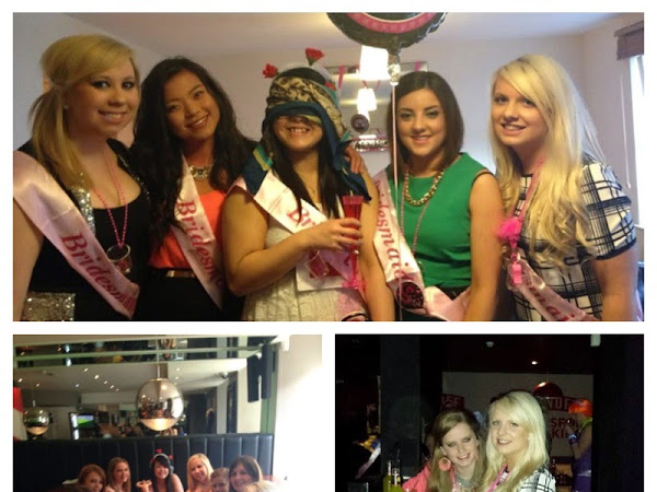 Hen Party Collage: Edinburgh