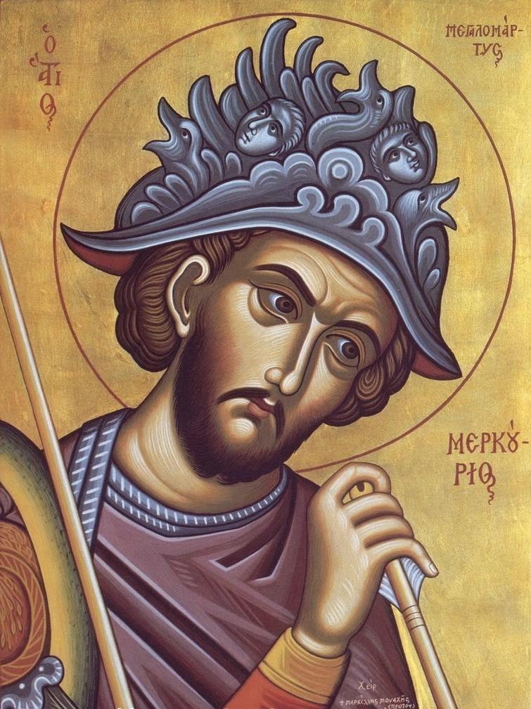 Sf.Mare Mucenic Mercurie